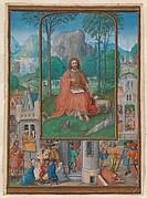 Manuscript Illumination with Scenes from the Life of Saint John the Baptist