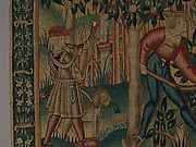 Hunting for Wild Boar (from the Hunting Parks Tapestries)