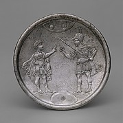Plate with David&amp;#39;s Confrontation with Eliab