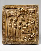Plaque with the Holy Women at the Sepulchre