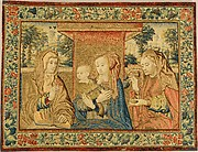 The Holy Family with Saint Anne