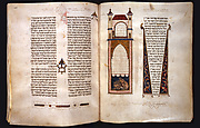 Hebrew Bible: Artist's Colophon and Arms of Castile-León (fols. 448v-449)