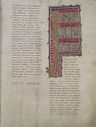 Leaves from the Bernward Bible