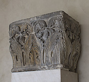 Impost Block with Acanthus Decoration