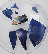 Glass Fragments from a Vessel