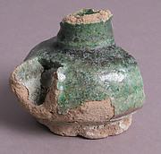 Glazed Spouted Pot