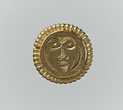 Gold Stud, possibly for a Horse Harness