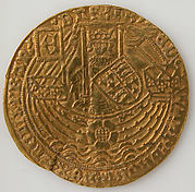 Coin with Rose Noble and Edward IV