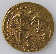 Solidus of Heraclius and Heraclius Constantine