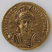 Gold Solidus of Constantine II