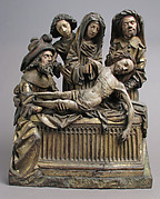 The Entombment of Christ with the Virgin Mary, Saint John, Nicodemus, and Joseph of Arimathea