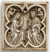 Plaque with the Coronation of the Virgin