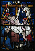 Stained Glass Panel with the Deposition