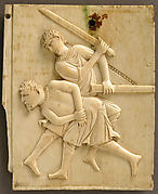 Panel from an Ivory Casket with the Killing of the King of Hazor (Joshua 11)