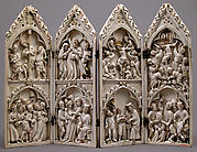 Polyptych with Scenes from Christ's Passion