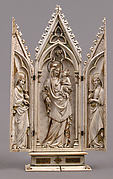 Triptych with the Coronation of the Virgin