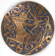 Medallion with Archer Shooting Bird