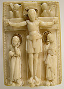 Ivory Plaque with the Crucifixion