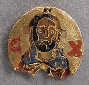 Medallion with Christ