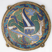 Winged Dragon (one of five medallions from a coffret)