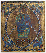Plaque of Christ in Majesty