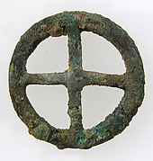Four-Spoked Votive Wheel