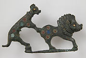 Brooch in the Form of a Dog Attacking a Boar