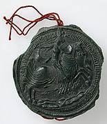 Seal Impression of Louis, Marquis of Salcuces (1433-1504)