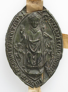 Episcopal seal of Gui d'Avesnes, Bishop of Utrecht