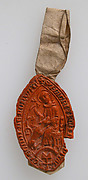 Seal Impression, Saint Hubert/Eustace/or Giles