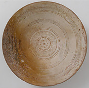 Bowl with Geometric Rosette