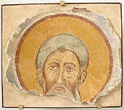 Wall Painting of a Male Saint