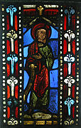 Panel of a Prophet from a Jesse Tree Window