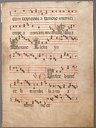 Manuscript Leaf, from a Gradual