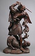 Saint Michael Slaying the Demon