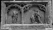 Funerary Relief from the Tomb of Milon de Donzy (d. 1337-38), dean of the Cathedral of Nevers