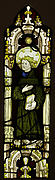 Stained Glass Panel with an Angel