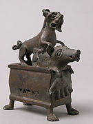 Censer with a Lioness Hunting a Boar