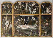 Triptych with the Entombment