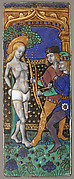 Triptych Panel with Saint Sebastian
