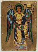 Plaque with Saint Michael