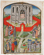 "The Temple in Jerusalem, from the ""Postilla Litteralis (Literal Commentary)"" of Nicholas of Lyra"