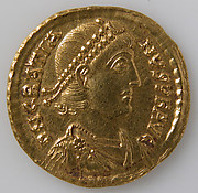 Solidus of Gratian (r. 375–383)