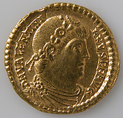 Solidus of Valentinian I (r. 364–375)