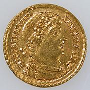 Gold Solidus of Emperor Valentinian I (r. 364–75)