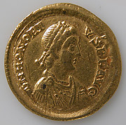 Solidus of Honorius (r. 395–423)