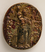 Medallion with St. Christopher (?)