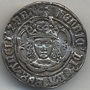 Half Groat of Henry VII (1485-1509)