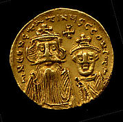 Gold Solidus of Constans II (641–68)