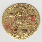 Solidus of Justinian II (685-95)